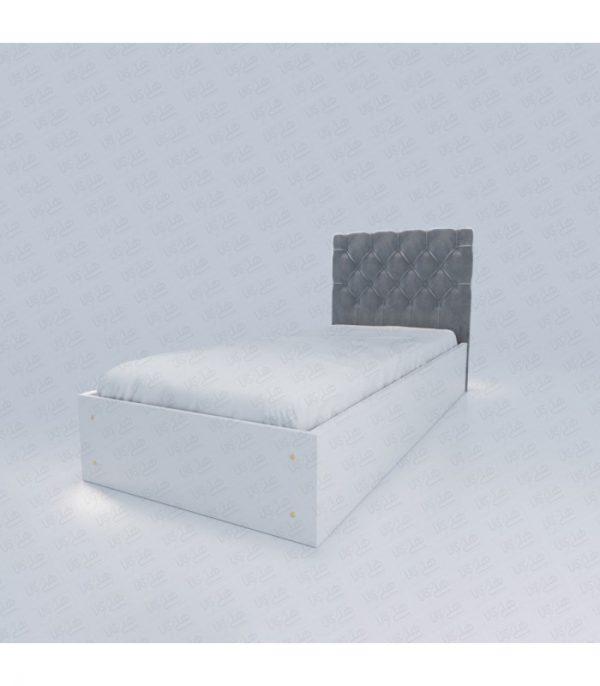 تخت خواب یک نفره چستر سفید