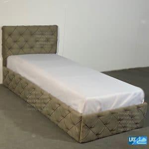 تخت چستر طوسی یکنفره